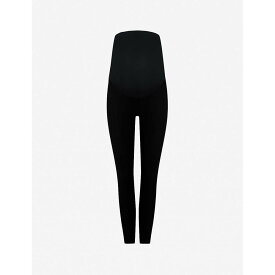 スパンクス SPANX レディース インナー・下着【Mama Ankle Jean-ish high-rise stretch-jersey maternity leggings】Very black