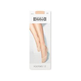 ウォルフォード WOLFORD レディース ソックス インナー・下着【footsies 15 sock liners】Skin