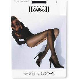 ウォルフォード WOLFORD レディース タイツ・ストッキング インナー・下着【velvet de luxe 50 nylon-blend tights】Admiral