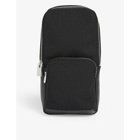 アリクス ALYX レディース ボディバッグ・ウエストポーチ バッグ【nylon and leather rollcercoaster buckle sling bag】Black