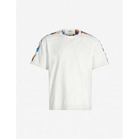 マルニ MARNI メンズ Tシャツ トップス【graphic-print oversized cotton-jersey t-shirt】White