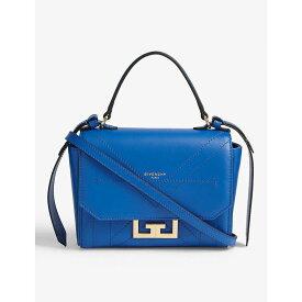 ジバンシー GIVENCHY レディース ショルダーバッグ バッグ【eden mini leather shoulder bag】Blue navy