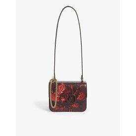 ヴァレンティノ VALENTINO レディース ショルダーバッグ バッグ【x undercover rose print leather shoulder bag】Rubin