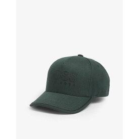 ヒューゴ ボス BOSS メンズ キャップ 帽子【Logo cotton cap】Open Green