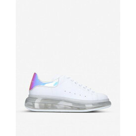 アレキサンダー マックイーン ALEXANDER MCQUEEN レディース スニーカー シューズ・靴【Ladies Runway transparent-sole leather trainers】WHITE/COMB