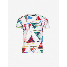 ラルフ ローレン POLO RALPH LAUREN メンズ Tシャツ トップス【Graphic-print cotton-jersey T-shirt】Nautical Sail