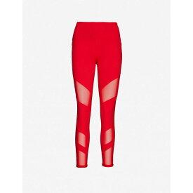 ローナジェーン LORNA JANE レディース スパッツ・レギンス インナー・下着【Advantage Core mesh mid-rise stretch-woven leggings】Ginger