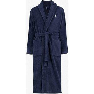 ラルフ ローレン POLO RALPH LAUREN メンズ ガウン・バスローブ インナー・下着【Terry towelling dressing gown】NAVY