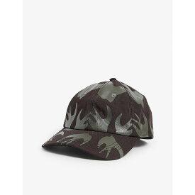 マックキュー・スワロー MCQ SWALLOW メンズ キャップ ベースボールキャップ 帽子【Swallow-print nylon baseball cap】KHAKI