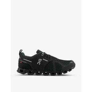 オン ランニング ON-RUNNING メンズ スニーカー シューズ・靴【Cloud waterproof mid-top mesh trainers】BLACK LUNAR