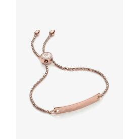 モニカ ヴィナダー MONICA VINADER レディース ブレスレット ジュエリー・アクセサリー【Havana Mini 18ct rose-gold vermeil friendship bracelet】Rose Gold