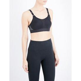 トリンプ triumph レディース トップス スポーツブラ【triaction stretch-cotton sports bra】Black