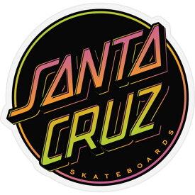 サンタクルーズ SANTA CRUZ メンズ ステッカー 【Contra Dot Sticker】BLACK COMBO