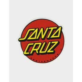 サンタクルーズ SANTA CRUZ メンズ ステッカー 【Classic Dot Sticker】RED