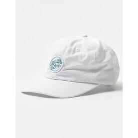 サンタクルーズ SANTA CRUZ メンズ キャップ 帽子【Mixed Up Strapback Hats】WHITE