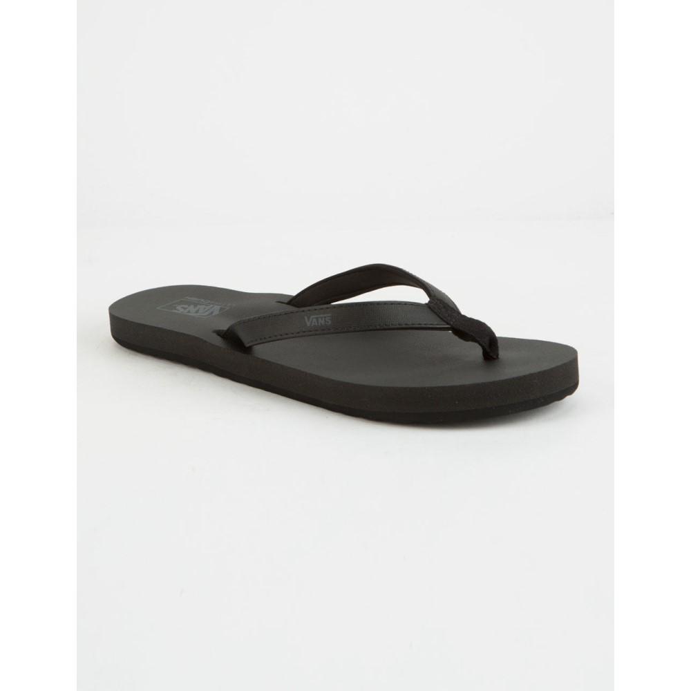 ヴァンズ レディース シューズ・靴 サンダル・ミュール【Soft-Top Black Sandals】BLACK