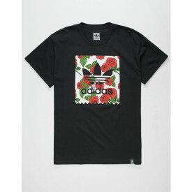 アディダス ADIDAS メンズ トップス Tシャツ【Print Rose Blackbird s T-Shirt】Black