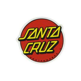 サンタクルーズ SANTA CRUZ メンズ ステッカー【Classic Dot Sticker】RED