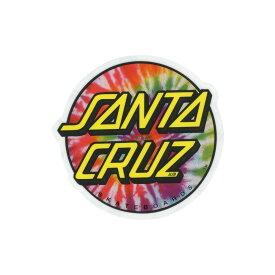 サンタクルーズ SANTA CRUZ メンズ ステッカー【Tie Dye Sticker】MULTI