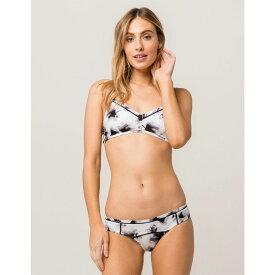 ルーカ RVCA レディース 水着・ビーチウェア ボトムのみ【Fading Petals Hipster Bikini Bottoms】WHITE