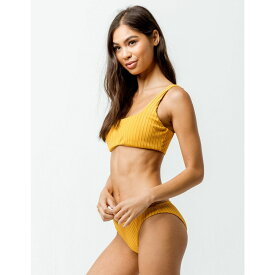 ビラボン BILLABONG レディース 水着・ビーチウェア ボトムのみ【Ribbed Cheeky Bikini Bottoms】ORANGE