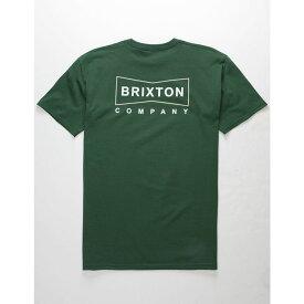 ブリクストン BRIXTON メンズ トップス Tシャツ【Wedge Forest T-Shirt】FOREST