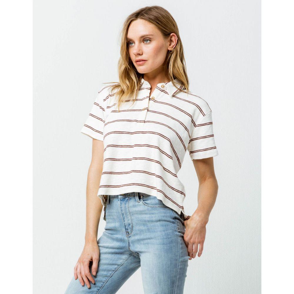 オニール O'NEILL レディース トップス ポロシャツ【Ace Crop Polo Shirt】WHITE COMBO