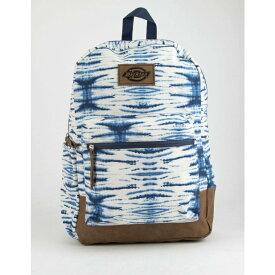 ディッキーズ DICKIES レディース バッグ バックパック・リュック【Colton Tie Dye Blue Backpack】BLUE COMBO