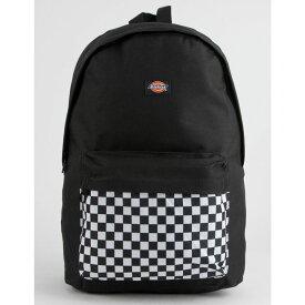 ディッキーズ DICKIES レディース バッグ バックパック・リュック【Red Label Checkered Black Backpack】BLACK