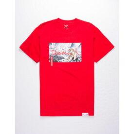 ダイアモンドサプライ DIAMOND SUPPLY CO. メンズ Tシャツ トップス【Tigris T-Shirt】RED