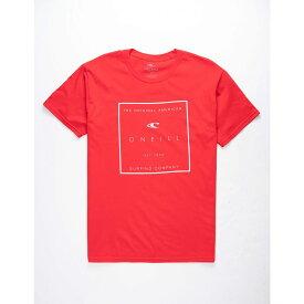 オニール O'NEILL メンズ Tシャツ トップス【Rollin Red T-Shirt】RED