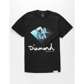 ダイアモンドサプライ DIAMOND SUPPLY CO. メンズ Tシャツ トップス【Orbit Sign T-Shirt】BLACK