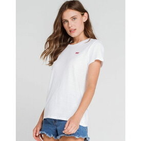 リーバイス LEVI'S レディース Tシャツ トップス【Perfect White Tee】WHITE