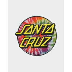 サンタクルーズ SANTA CRUZ レディース ステッカー 【Tie Dye Sticker】MULTI
