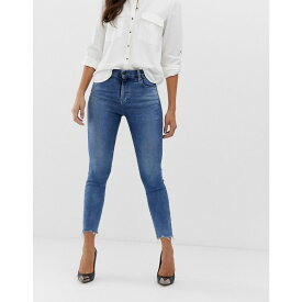 ジェイ ブランド J Brand レディース ボトムス・パンツ ジーンズ・デニム【Alana organic cotton high rise ankle grazer skinny jeans with raw hem detail】Epsilon