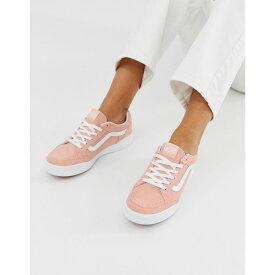 ヴァンズ Vans レディース シューズ・靴 スニーカー【Highland dusty pink trainers】Pink
