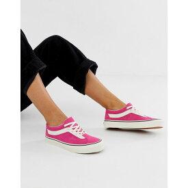 ヴァンズ Vans レディース シューズ・靴 スニーカー【Bold Ni pink trainers】Pink