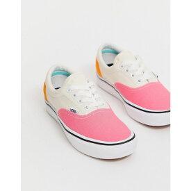 ヴァンズ Vans レディース シューズ・靴 スニーカー【ComfyCush Era colour block trainers】Pink