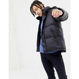 ペンフィールド Penfield メンズ アウター ダウン・中綿ジャケット【Equinox puffer jacket detachable hood in black】Black