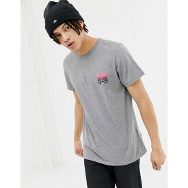 ペンフィールド Penfield メンズ トップス Tシャツ【Caputo back print t-shirt in grey marl】Grey