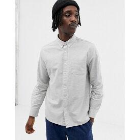 ペンフィールド Penfield メンズ トップス シャツ【Hingham neppy buttondown regular fit shirt in grey marl】Grey