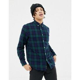 ペンフィールド Penfield メンズ トップス シャツ【young tartan check buttondown regular fit shirt in green】Green