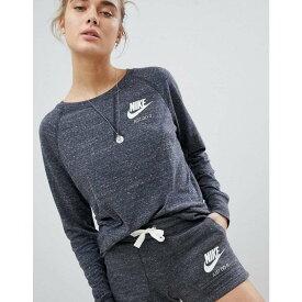 ナイキ レディース トップス スウェット・トレーナー【Nike Vintage Sweatshirt In Grey】Multicolour