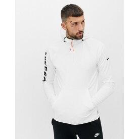 2bbc545cc52394 ナイキ Nike メンズ トップス パーカー【FC Logo Hoodie In white】White