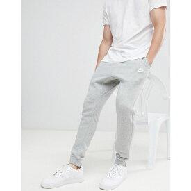 ナイキ Nike メンズ ボトムス・パンツ ジョガーパンツ【cuffed Club jogger in grey】Grey