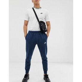 ナイキ Nike メンズ ボトムス・パンツ ジョガーパンツ【cuffed Club jogger in navy BV2671-410】Navy