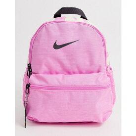 ナイキ Nike レディース バッグ バックパック・リュック【pink just do it mini backpack】Psychic pink/black/(