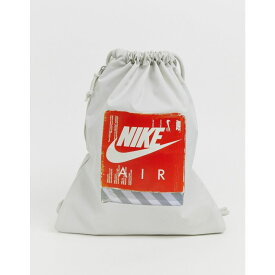 ナイキ Nike レディース バッグ【air grey 90s drawstring bag】Light bone/light bon