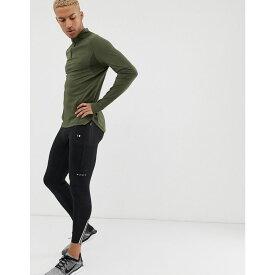 エイソス ASOS 4505 メンズ ランニング・ウォーキング ボトムス・パンツ【running tights with ankle zips in quick dry】Black