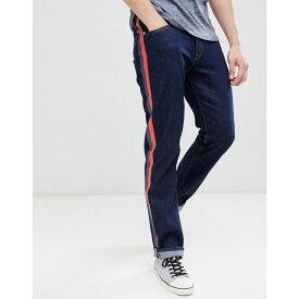 カルバンクライン Calvin Klein Jeans メンズ ボトムス・パンツ ジーンズ・デニム【straight jeans with side stripes】Plastic rinse